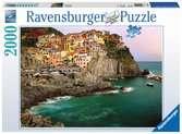 Cinque Terre, Italië Puzzels;Puzzels voor volwassenen - Ravensburger