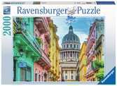 Colourful Cuba, 2000pc Puzzles;Adult Puzzles - Ravensburger