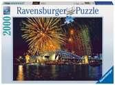 FAJERWERKI NAD SYDNEY 2000EL14 Puzzle;Puzzle dla dorosłych - Ravensburger