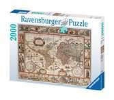 Map of the World 1650, 2000pc Puzzles;Adult Puzzles - Ravensburger