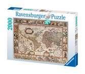Puzzle 2000 p - Mappemonde 1650 Puzzle;Puzzle adulte - Ravensburger