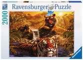 Am Wasserloch Puzzle;Erwachsenenpuzzle - Ravensburger