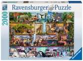 Amazing Animal Kingdom, 2000pc Puslespil;Puslespil for voksne - Ravensburger