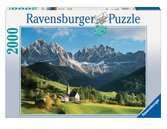 WŁOSKIE DOLOMITY 2000EL Puzzle;Puzzle dla dorosłych - Ravensburger