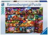 World of Books Jigsaw Puzzles;Adult Puzzles - Ravensburger