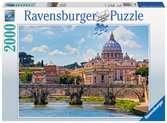 Puzzle 2000 p - Le pont Saint-Anges à Rome Puzzle;Puzzle adulte - Ravensburger