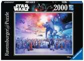 Star Wars episode I-VI Saga, 2000pc Pussel;Vuxenpussel - Ravensburger