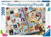 Disney Stamp Album, 2000pc Puzzles;Adult Puzzles - Ravensburger