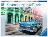 Auta na Kubě 1500 dílků 2D Puzzle;Puzzle pro dospělé - Ravensburger