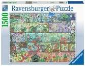 Zwerge im Regal           1500p Puslespil;Puslespil for voksne - Ravensburger
