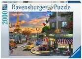 Malovaná scenérie 2000 dílků 2D Puzzle;Puzzle pro dospělé - Ravensburger
