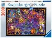 Puzzle 3000 p - Signes du zodiaque Puzzle;Puzzle adulte - Ravensburger