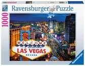 AT Las Vegas              1000p Puslespil;Puslespil for voksne - Ravensburger