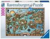 Mysterious Atlantis Puslespill;Voksenpuslespill - Ravensburger