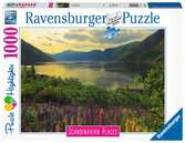 Scandinavian Places - Fjord in Norway  1000p Puslespil;Puslespil for voksne - Ravensburger