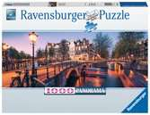 Abend in Amsterdam        1000p Puslespil;Puslespil for voksne - Ravensburger