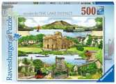 Escape to … The Lake District, 500pc Puzzles;Adult Puzzles - Ravensburger
