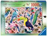 Matt Sewell s Amazing Birds1000p Puslespil;Puslespil for voksne - Ravensburger