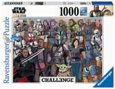Puzzle 1000 p - Baby Yoda / Star Wars Mandalorian (Challenge Puzzle) Puzzle;Puzzles adultes - Ravensburger