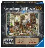 Exit Puzzle: Umělecké studio 759 dílků 2D Puzzle;Puzzle pro dospělé - Ravensburger