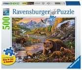Wildernis / La vie sauvage Puzzle;Puzzles enfants - Ravensburger
