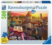 Wijn drinken op het terras Puzzels;Puzzels voor volwassenen - Ravensburger