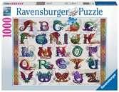 Drakenalfabet Puzzels;Puzzels voor volwassenen - Ravensburger
