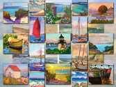 Coastal Collage Puzzels;Puzzels voor volwassenen - Ravensburger