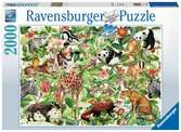 Jungle Puzzels;Puzzels voor volwassenen - Ravensburger