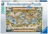 Around the World, 2000pc Puzzles;Adult Puzzles - Ravensburger