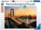 San Francisco bei Nacht Puzzle;Erwachsenenpuzzle - Ravensburger