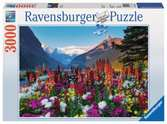 Flowery Mountains Jigsaw Puzzles;Adult Puzzles - Ravensburger