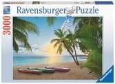 Puzzle 3000 p - Le paradis des palmiers Puzzle;Puzzle adulte - Ravensburger