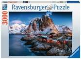 Lofoten, Norway, 3000pc Puzzles;Adult Puzzles - Ravensburger