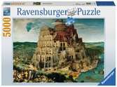 The Tower of Babel Jigsaw Puzzles;Adult Puzzles - Ravensburger
