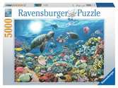 Beneath the Sea 5000 pc Puslespil;Puslespil for voksne - Ravensburger