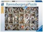 Puzzle 5000 p - Chapelle Sixtine Puzzle;Puzzle adulte - Ravensburger