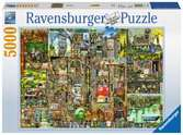 Colin Thompson s Bizarre Town, 5000pc Puzzles;Adult Puzzles - Ravensburger