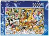 Ravensburger Disney Multicharacter 5000 piece Jigsaw Puzzle for Adults & for Kids Age 12 and Up Puslespil;Puslespil for voksne - Ravensburger