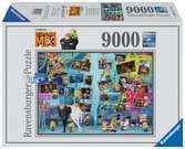 ZABAWNE MINIONKI 9000 EL. Puzzle;Puzzle dla dorosłych - Ravensburger