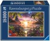 Paradijselijke zonsondergang Puzzels;Puzzels voor volwassenen - Ravensburger