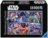 Puzzle 18000 p - Voyage galactique dans le temps / Star Wars Puzzle;Puzzles adultes - Ravensburger