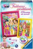 Tableaux scintillants princesses du monde Loisirs créatifs;Activités créatives - Ravensburger