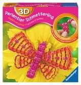 3D Perlentier Schmetterling Malen und Basteln;Bastelsets - Ravensburger