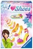 I Love Shoes - Flowers Malen und Basteln;Bastelsets - Ravensburger