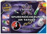 ScienceX Spurensicherung am Tatort Experimentieren;ScienceX® - Ravensburger