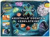 ScienceX Kristalle züchten + Edelsteine Experimentieren;ScienceX® - Ravensburger