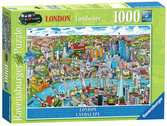London - landscape, 1000pc Puzzles;Adult Puzzles - Ravensburger