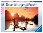 Pêche au coucher du soleil Puzzle;Puzzle adulte - Ravensburger