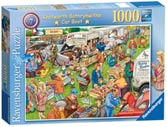 Best of British - The Car Boot Sale, 1000pc Puzzles;Adult Puzzles - Ravensburger